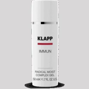 radical moist complex gel